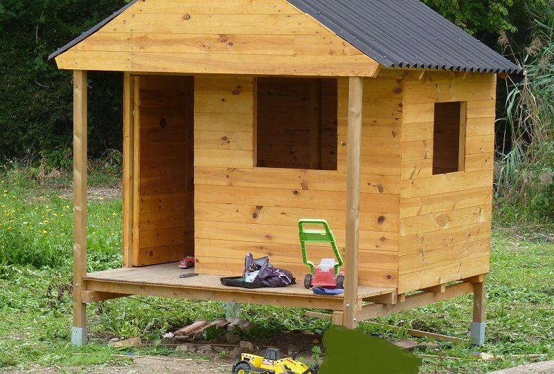 Cabane de jardin pour enfants Instructions de montage ...