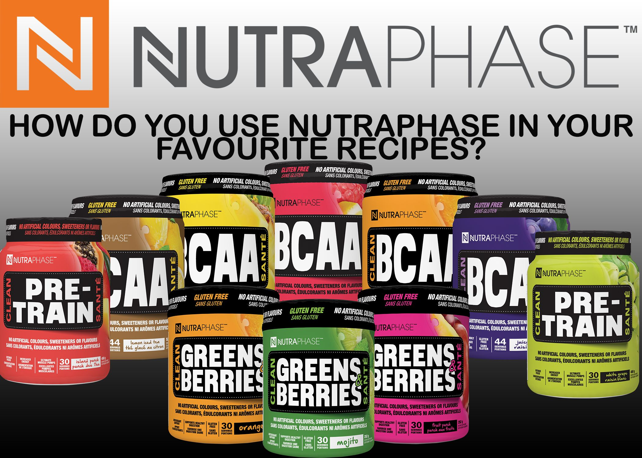 How do you use nutraphase in your favourite recipes the