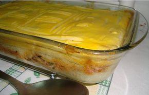 Receitas práticas de culinária: Empadão de Atum e Puré de Batata