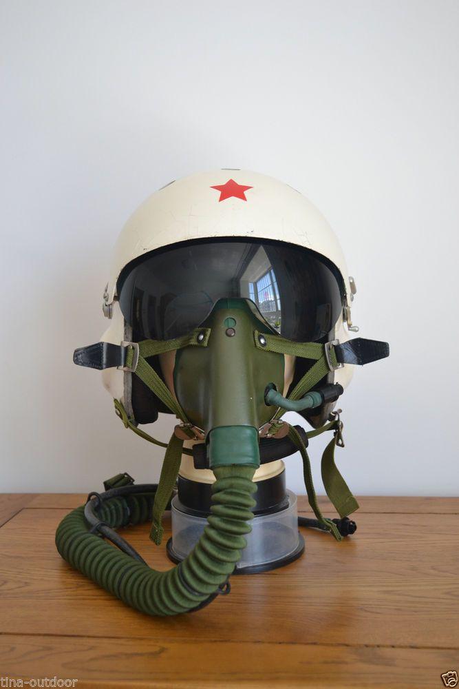 4c3dd1ca9319 Air Force Mig-21 Fighter Pilots Flight Helmet