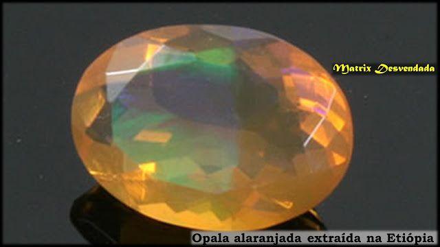 Opala de Fogo   Pedras Preciosas