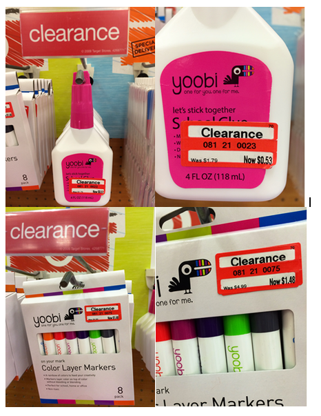 Meijer School Supplies More Target Back To Clearance Items
