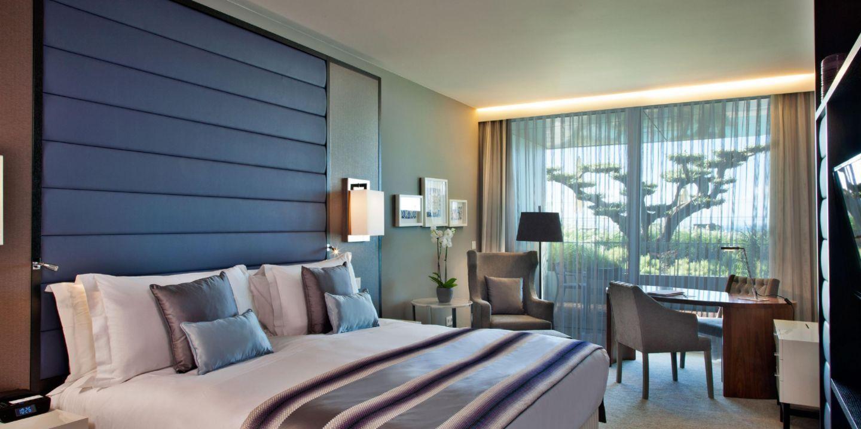 hilton puerto vallarta resort mexico suite with terrace bedroom