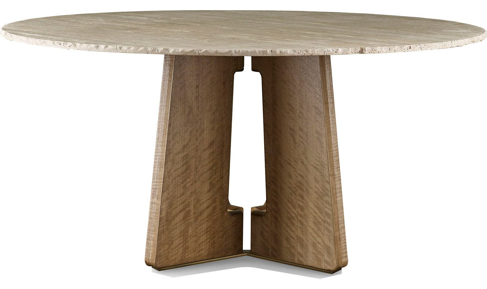Calistoga Dining Table By Barbara Barry Mca1039 Mcguire Furniture In 2020 Dining Table Barbara Barry Mcguire Furniture