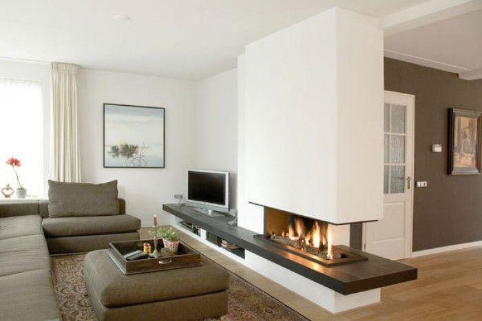 ideeën voor een woonkamer met openhaard - Google Search ...