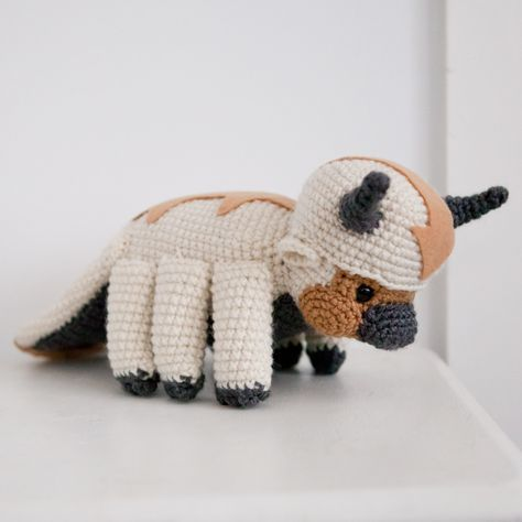 Amigurumi Appa Here it is, the commission of first
