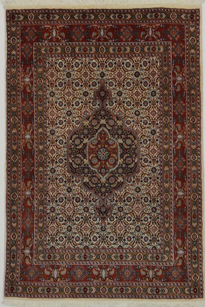 MOUD Wunderschöner Orientteppich 160 x 90 cm Perserteppich