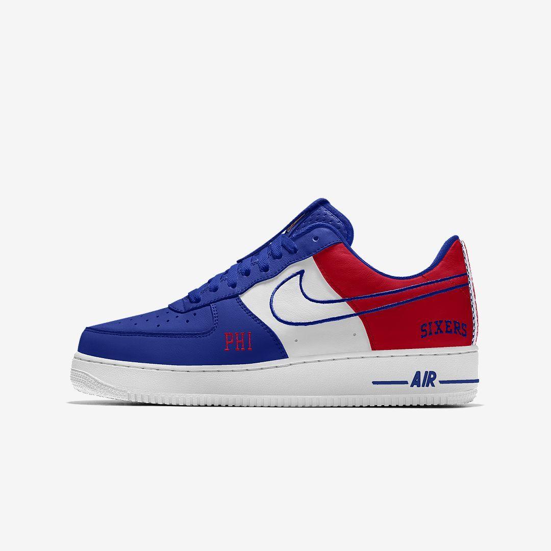 Air Force 1 High Premium Id (philadelphia 76ers) Men's Shoe