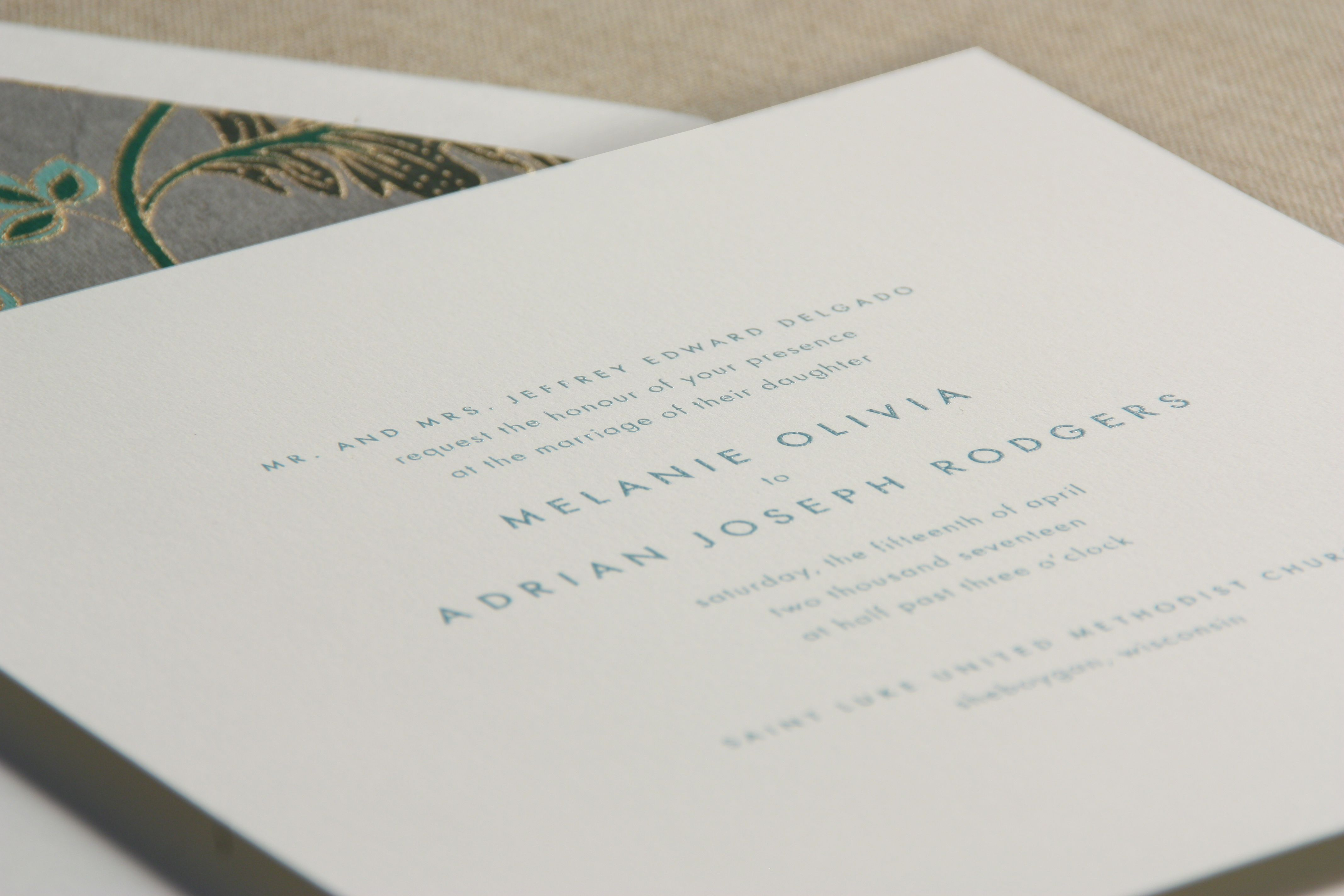 Square drake invitation a pop of peacock ink and square shape locate a crane and co greeting card and stationery store near you click now to find the nearest crane stationery store in your area kristyandbryce Image collections