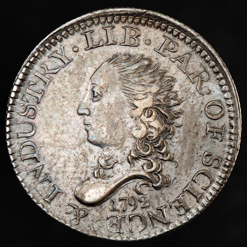 half disme coin