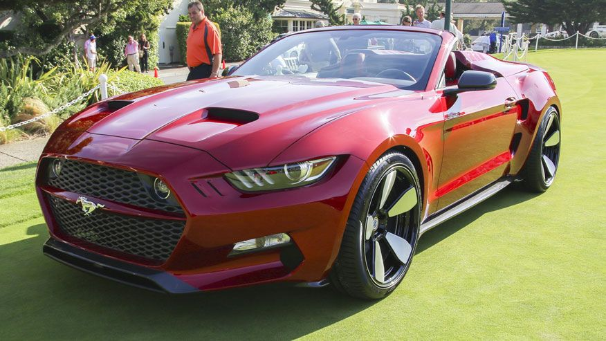 The Rocket Speedster is a customized Ford Mustang is
