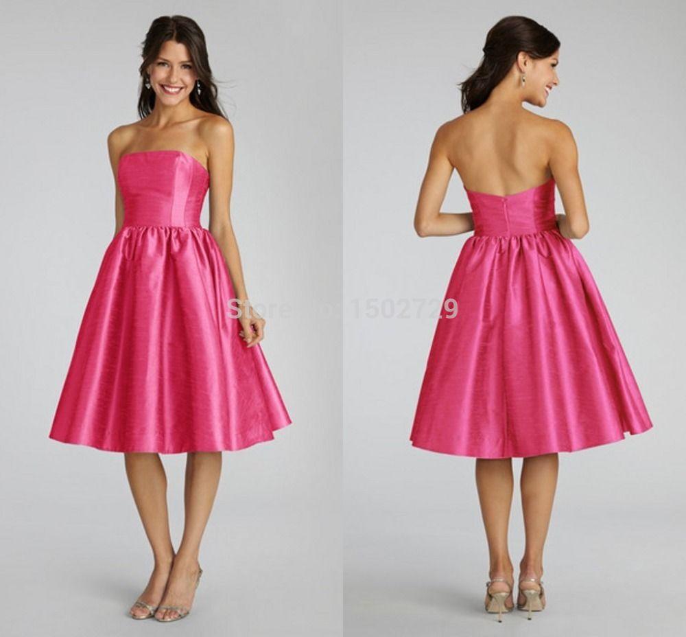 Fashion Choice Of Popular Hot Pink Bridesmaid Dresses-Buy Cheap Hot ...