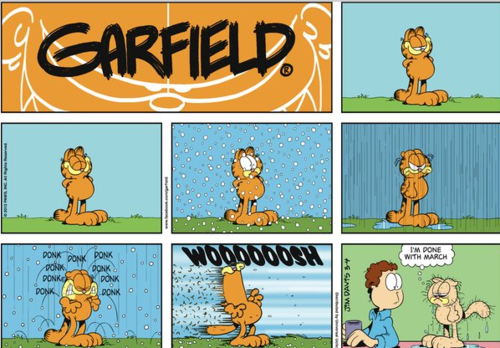 Garfield lives in Utah Garfield comics, Comics, Garfield