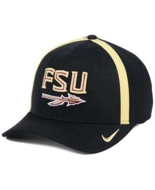 differently 9c932 22e2e Nike Florida State Seminoles Aerobill Sideline Coaches Cap - Black  Adjustable