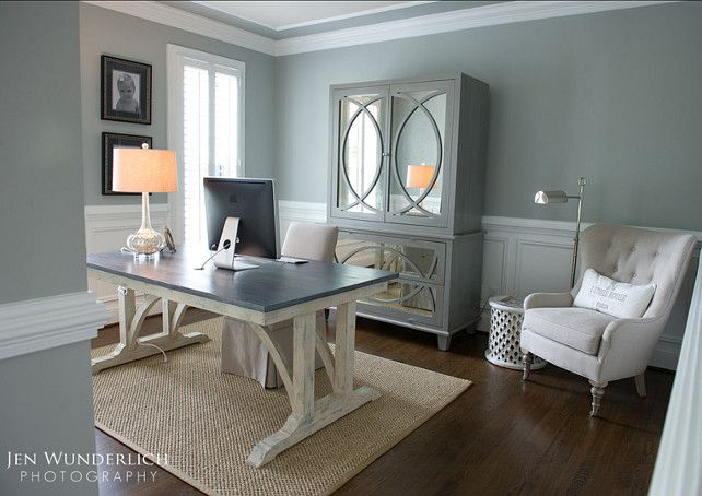 Gray cashmere benjamin moore impressive paint color ideas for Home office images