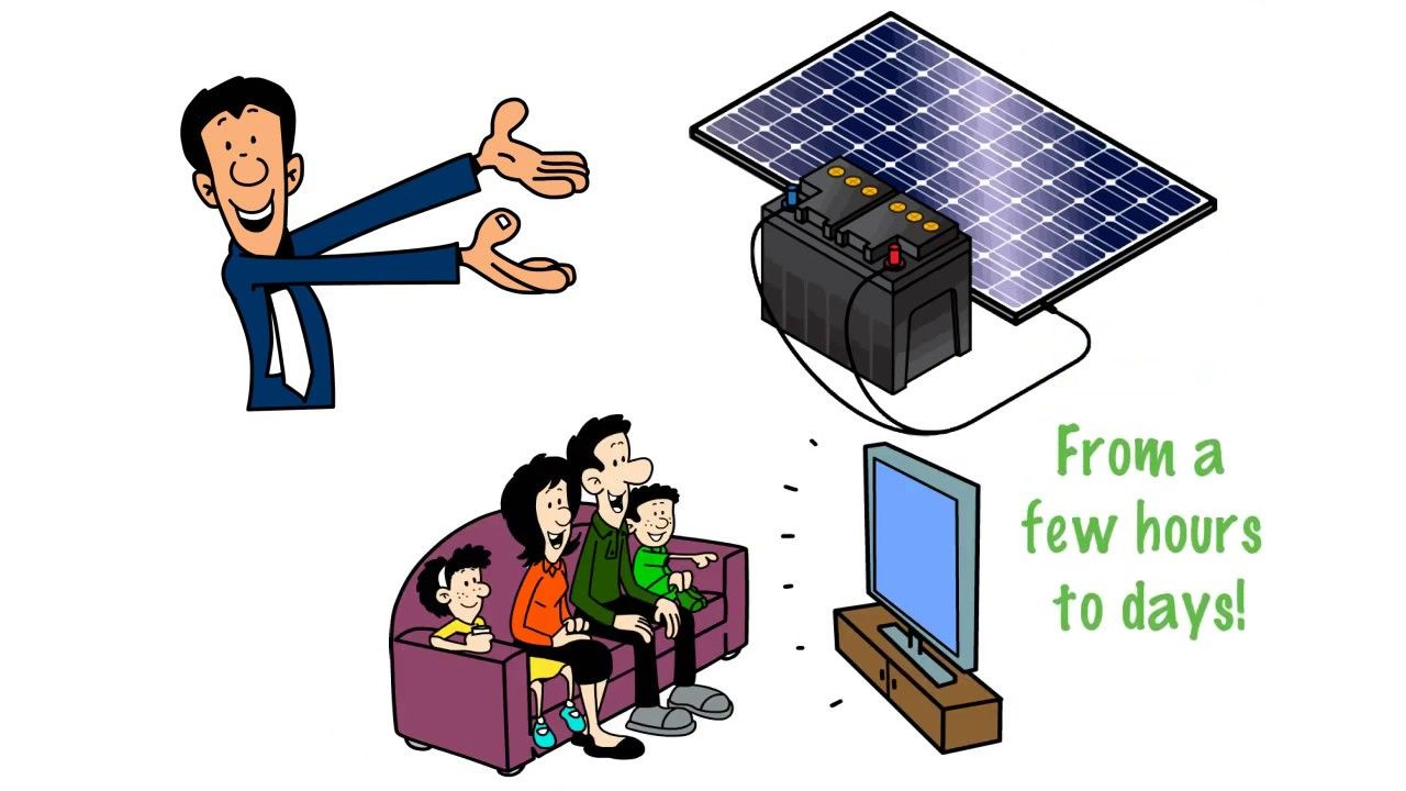 Get Solar Ready, Battery backup for your home. www