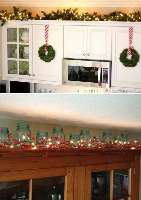 20 Stylish And Budgetfriendly Ways To Decorate Above Kitchen Cabinets Amazing D In 2020 Decorating Above Kitchen Cabinets Above Kitchen Cabinets Kitchen Cabinets Decor