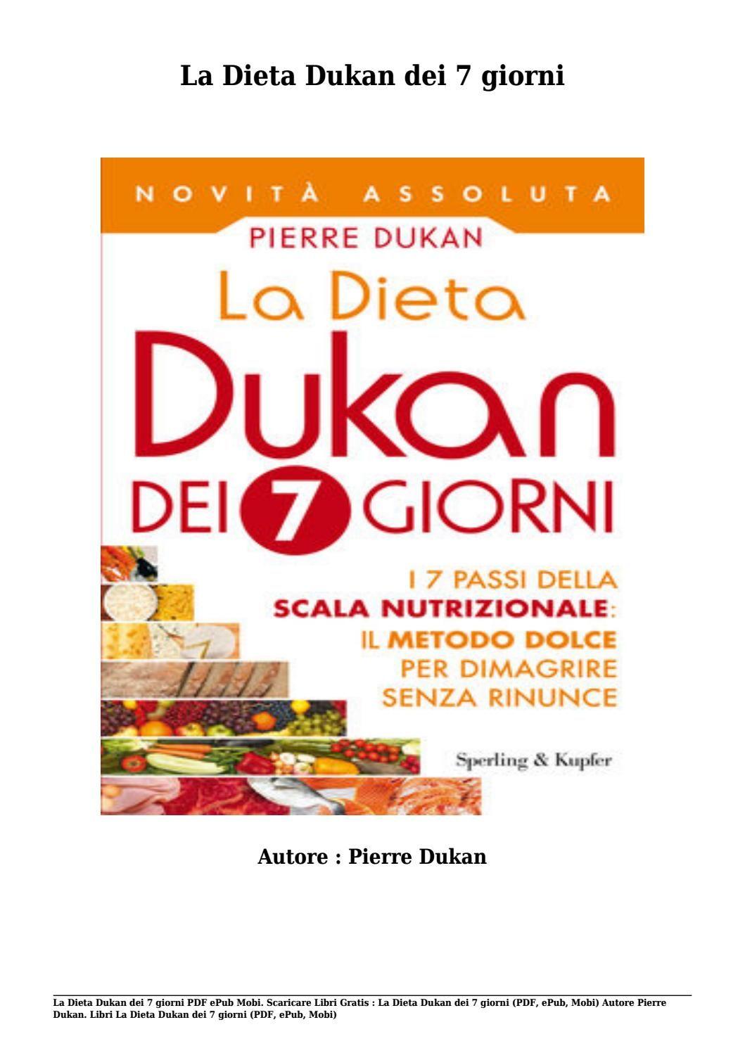 scarica libro gratis dieta dukan