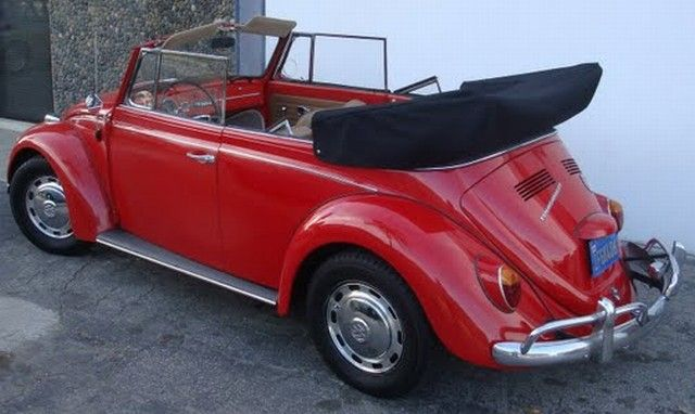 1967 VW Beetle convertible---i have a 68 VW convertible--luv luv luv it