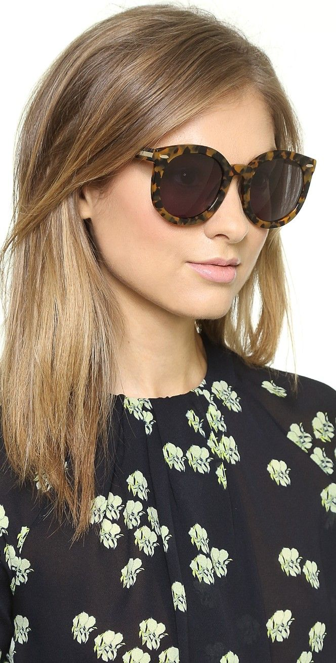 2a29d714eb02 Karen Walker Special Fit Super Duper Strength Sunglasses