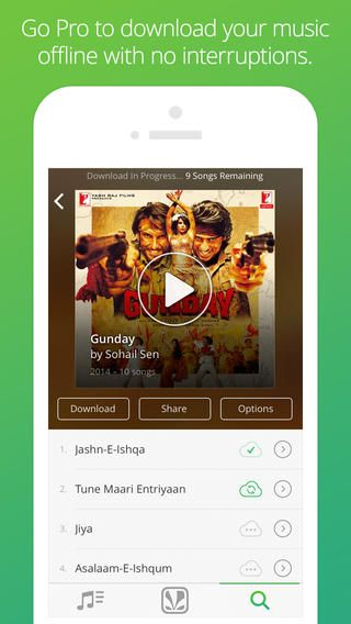 Saavn - beautiful universal app | Sexy Apps | Mobile app