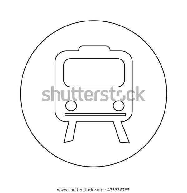 Train Icon Illustration Design Stock Vector Royalty Free 476336785 Icon Illustration Illustration Design Illustration
