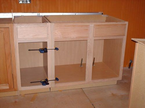 Kreg jig kitchen cabinet plans mf cabinets for Build kitchen cabinets with kreg
