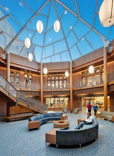 university of michigan  stockwell hall ann arbor mi goody clancy  architects