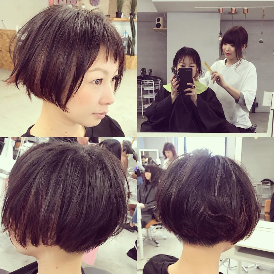 Images About 刈り上げボブ Tag On Instagram ヘアカット 刈り上げボブ ショートボブ