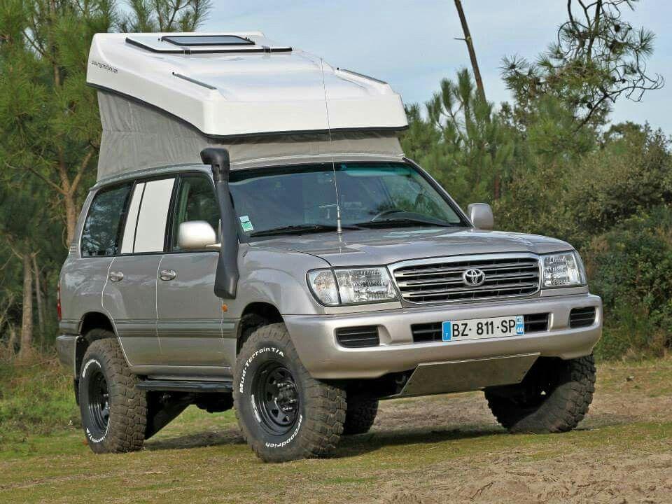 Uzj 100 With Custom Camper Very Sweet Landcruiser