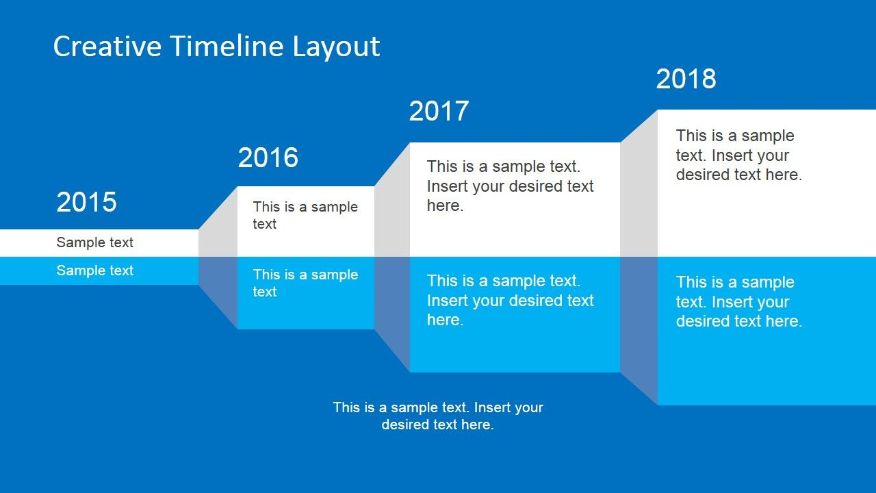 Project Status Timeline Template For Powerpoint  Timeline