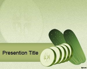cucumber powerpoint template powerpoint pinterest