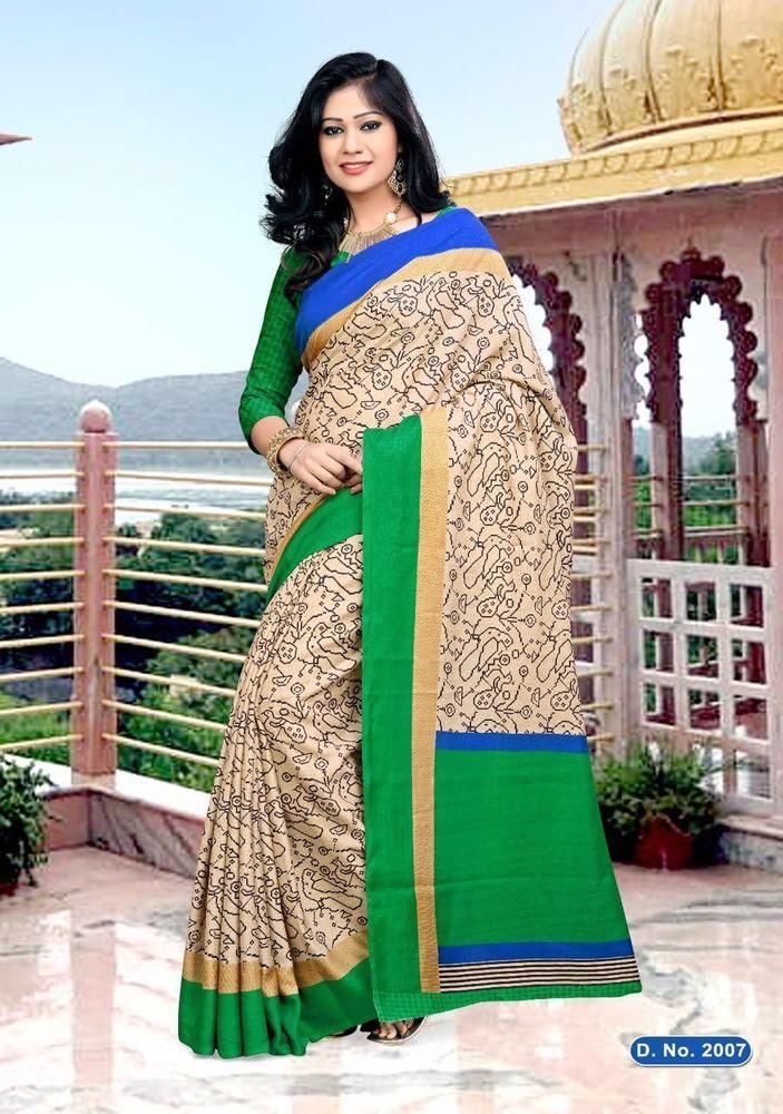 Saree Sari Indian Bridal Bollywood Ethnic Pakistani Designer Wear Traditional AV