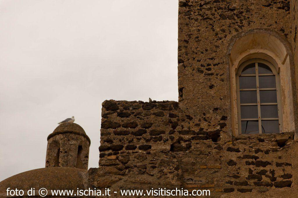 Castello Aragonese, Ischia. 40.7313°N 13.8957°E