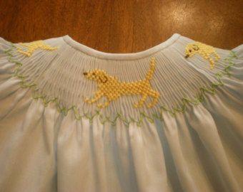 Smocks robe de bébé bébé nourrisson évêque couche-culotte
