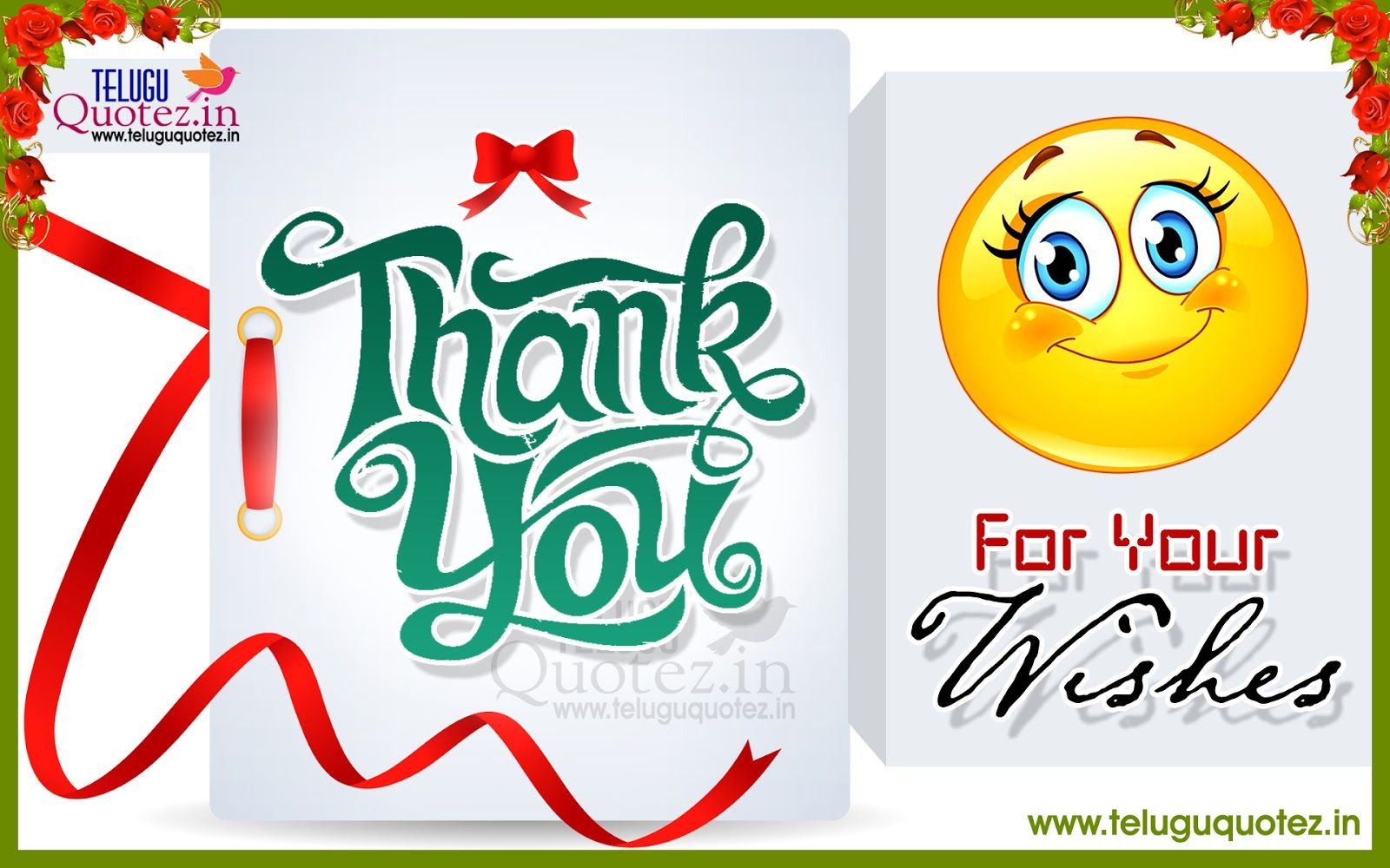Thank you friend quotes for all wishes in english