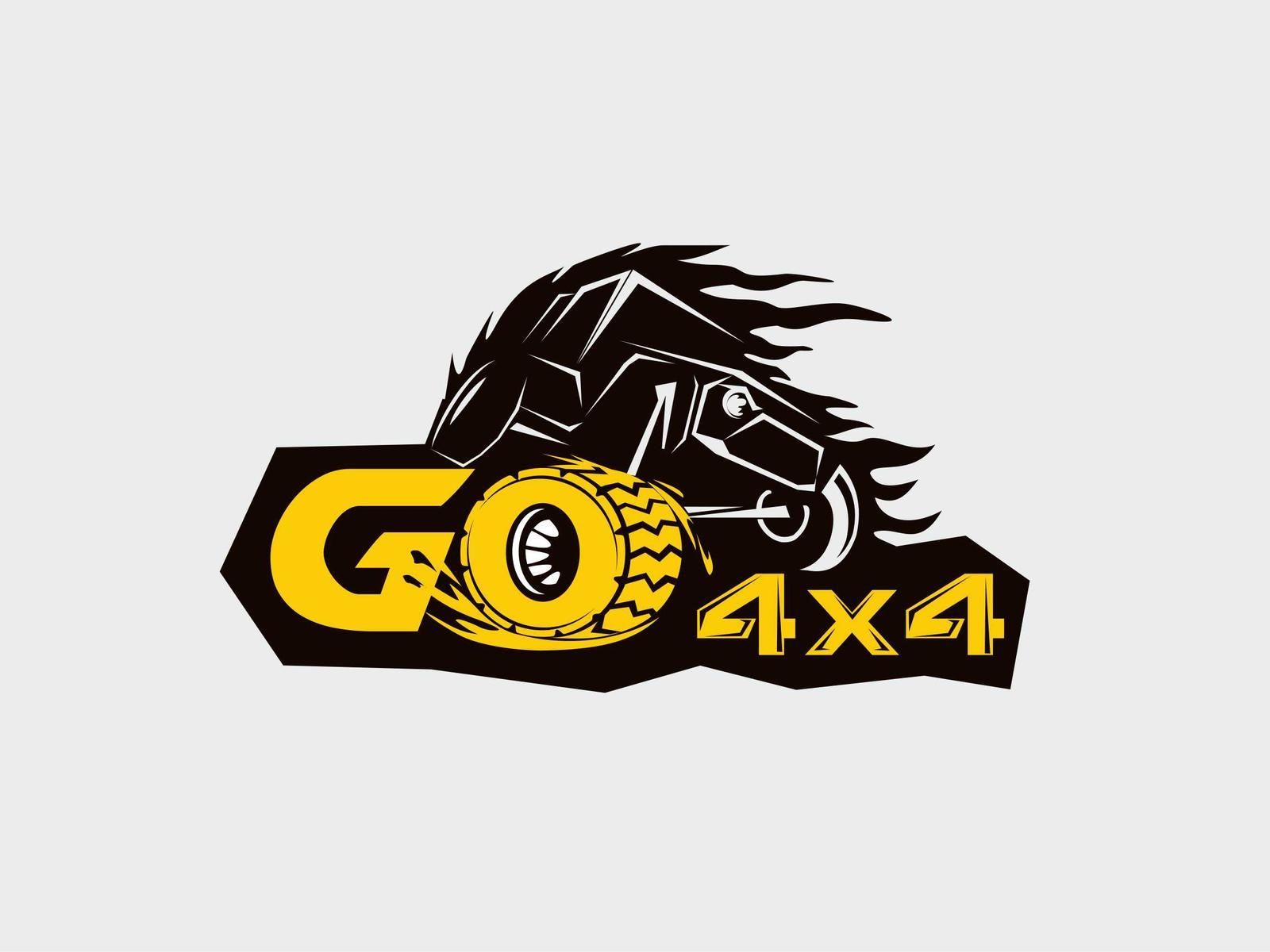 improve a logo for go4x4 offroad community by zvercat good rh pinterest com off road logo png off road logo maker
