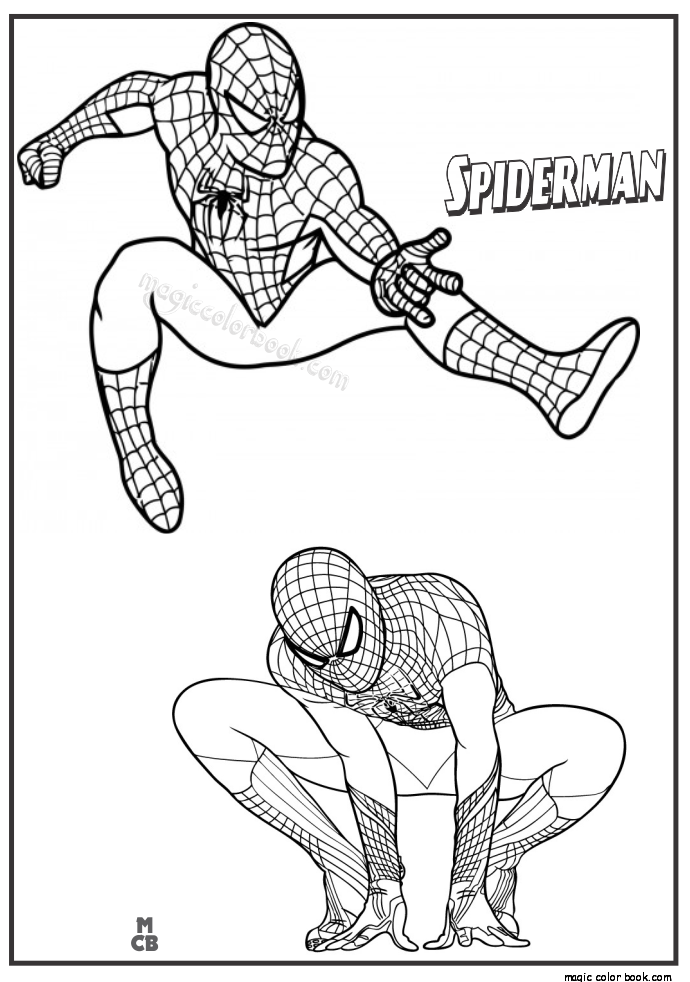 Pin by Doaa Salem on Spiderman photo | Spiderman coloring ...