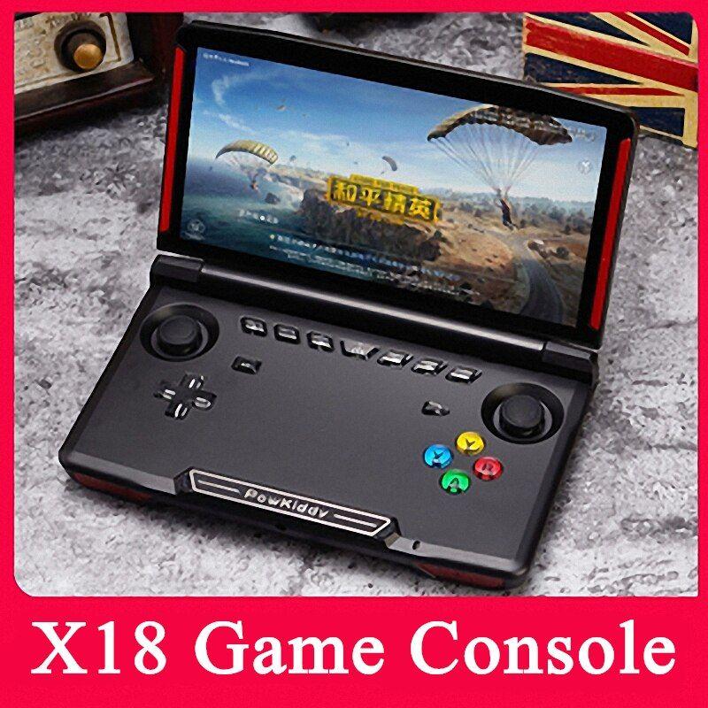 Powkiddy Console De Videogame X18 Console De Jogos Eletronicos Portatil De Mao Mini Arcade De Jogos Emulad Console De Videogame Consoles De Videogame Arcade