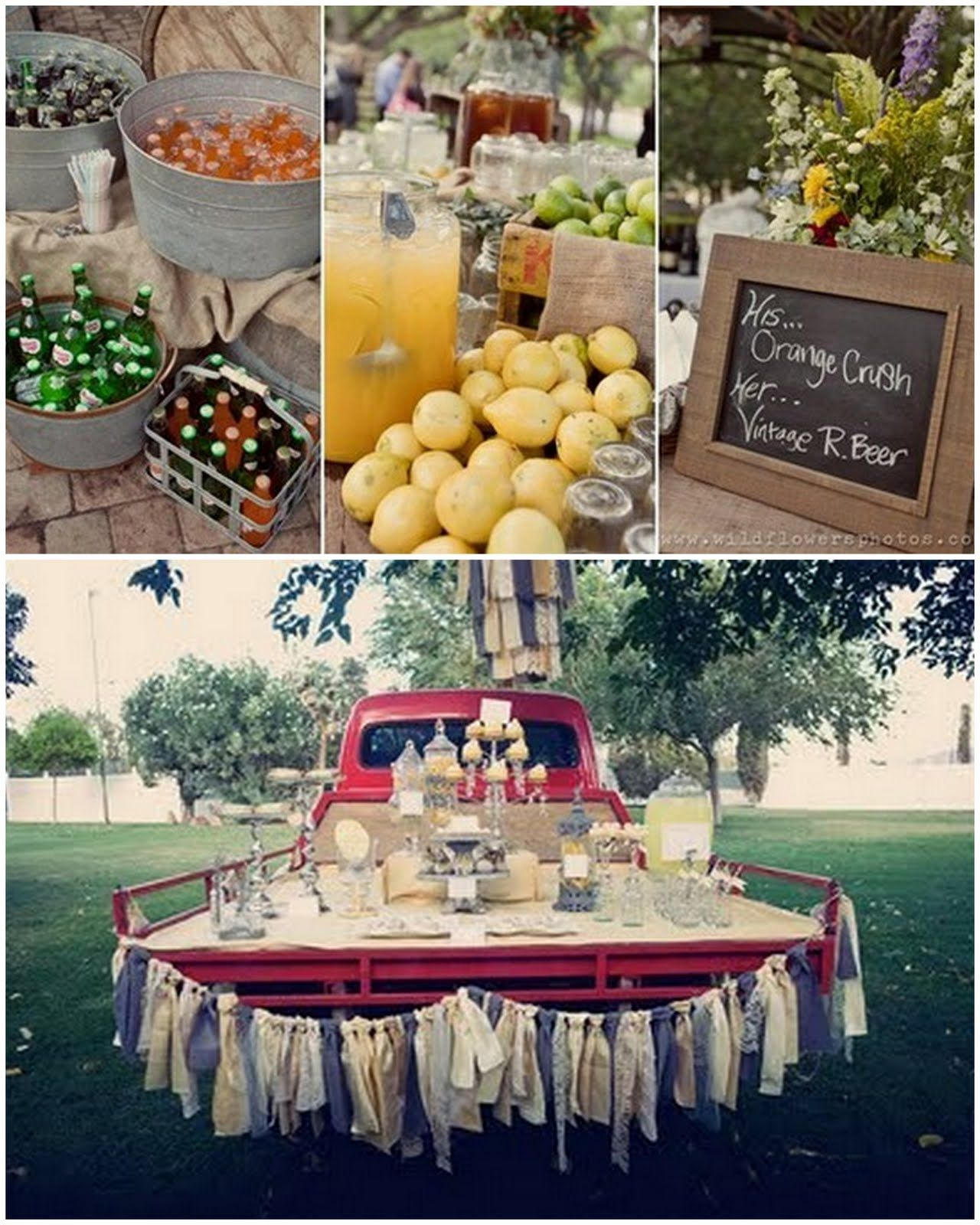 Country Wedding Reception Ideas: Country Style Wedding These 2