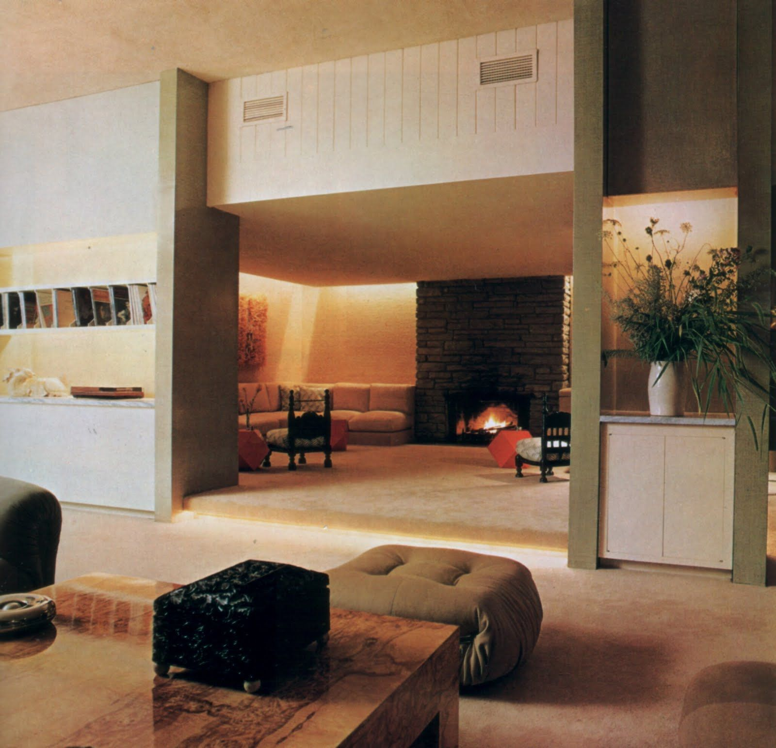 David Whitcomb Architectural Digest March 1979 Appartement