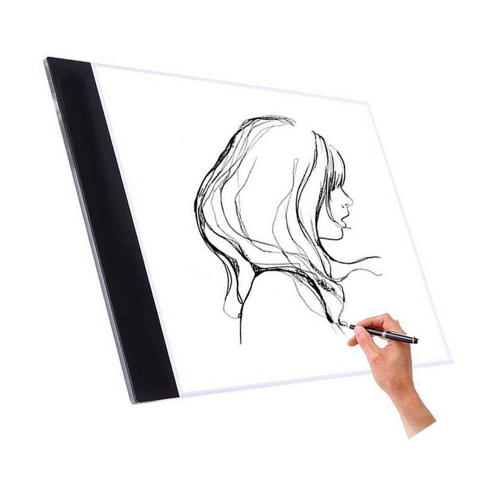 Nopteg Tracing Light Box A4 Led Drawing Light Pad 5mm Ultra Thin