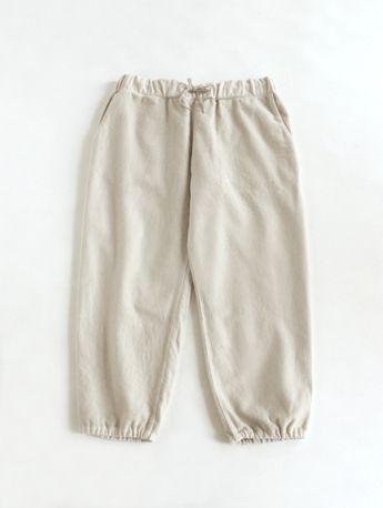 evam eva - botanical dye flannel pants - kinari