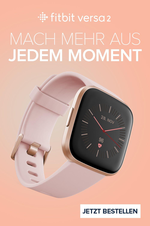 Fitbit Versa 2 In 2020 Fitbit Smartwatch Fitness Uhr