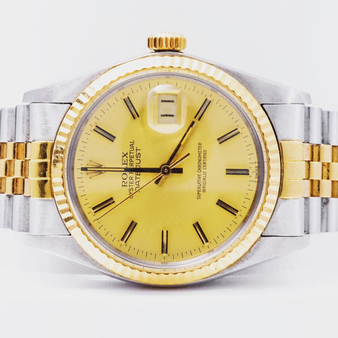 Rolex stainless steel and gold bracelet watch luxurious watches
