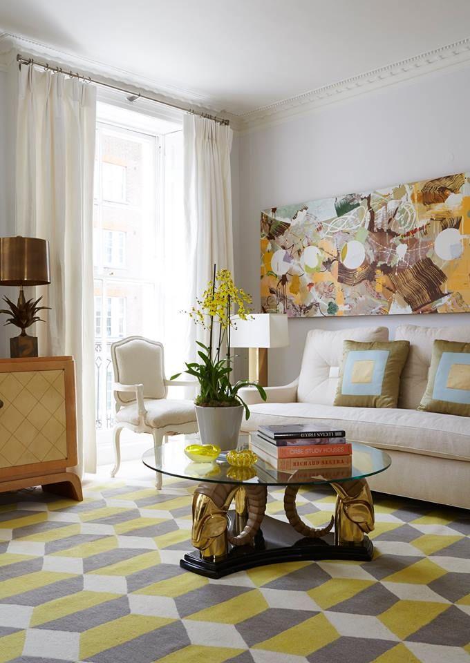 jan showers  associatesdallas  eclectic living room