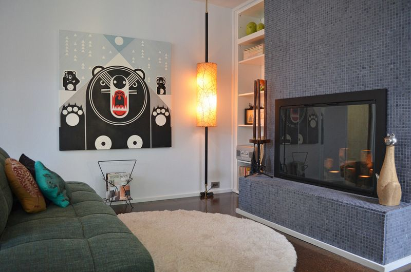 Midcentury Living Room by Sarah Greenman My Home Ideas and