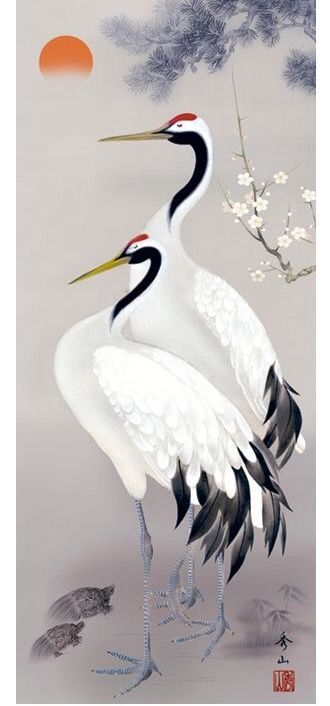 Pin by Alka V  K  on Chinese painting in 2019 | Japanese art