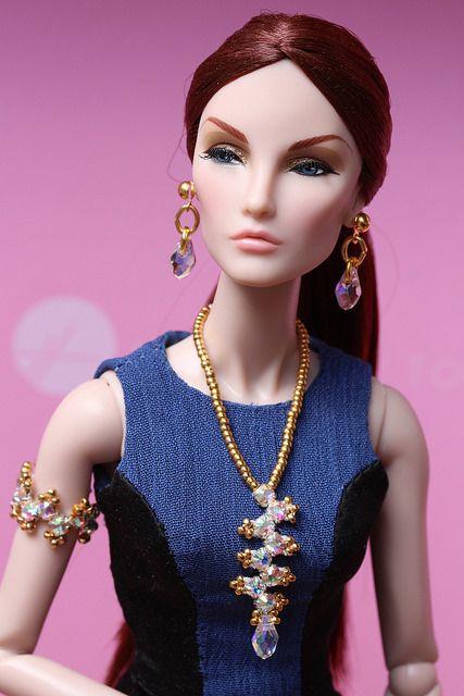 In Night Strike Monogram's dress, Chanel purse by La Boutique, hat by IT customized by me, ooak jewelry set by me.