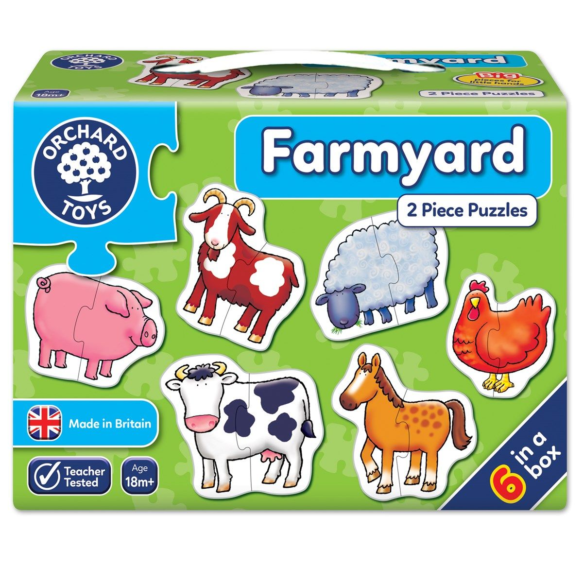 Farmyard Jigsaw Puzzle   Shaped Jigsaw Puzzles   Pinterest